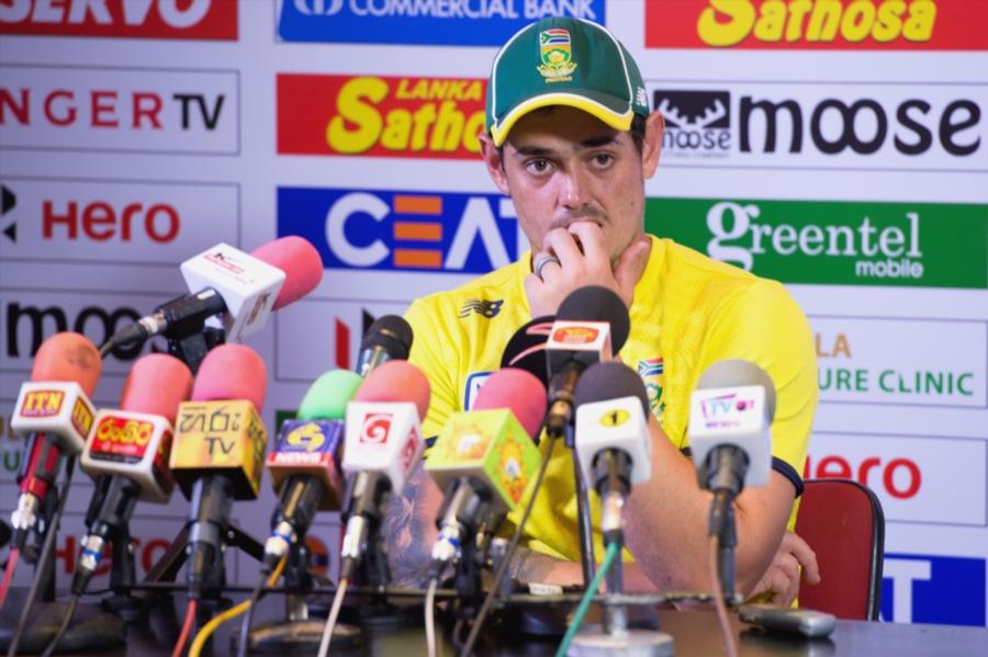 Quinton de Kock named SA one-day captain