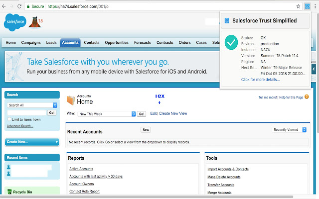 Salesforce Trust Simplified