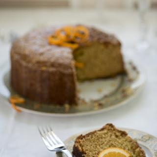 Candied Orange Olive Oil Cake