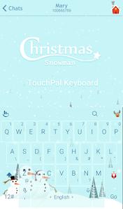Christmas Snowman Xmas Theme screenshot 0