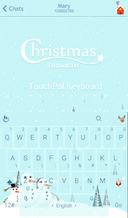 Download Christmas Snowman Xmas Theme For PC Windows and Mac apk screenshot 1