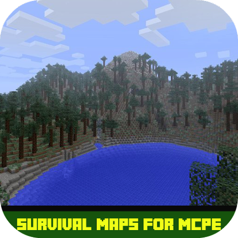 android Survival Maps For MCPE Screenshot 0