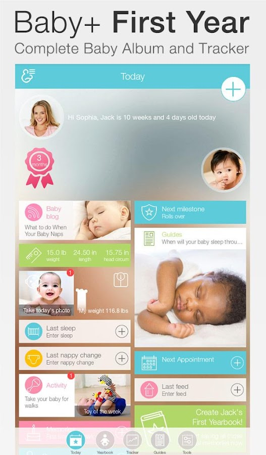 Baby + : your baby tracker- screenshot