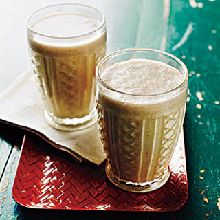 Peanut Butter, Banana, and Flax Smoothies Recipe