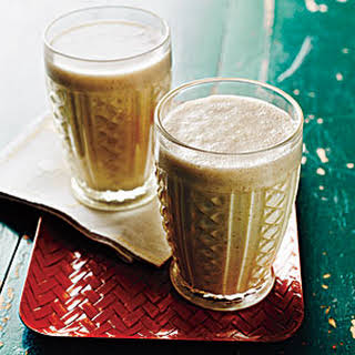 Peanut Butter, Banana, and Flax Smoothies.