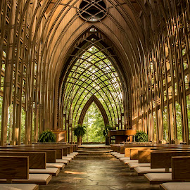 THE CHAPEL IN THE WOODS by Dana Johnson - Buildings & Architecture Places of Worship ( church, chapel, worship, building, architecture )
