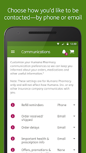 Humana Pharmacy- screenshot thumbnail