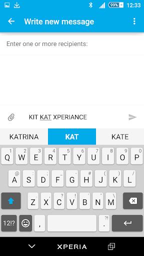 Kit Kat Xperien Theme screenshot 3