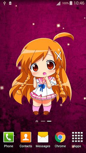 Anime Chibi Live Wallpaper 2.8 screenshots 1