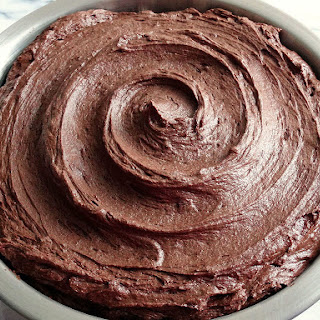 Dark Chocolate Cream Cheese Buttercream.