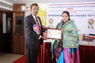Photo: Felcitations to Dr. V. Padmavathy, Chief Guest