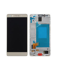 Huawei Honor 7 LCD Display with Frame Gold