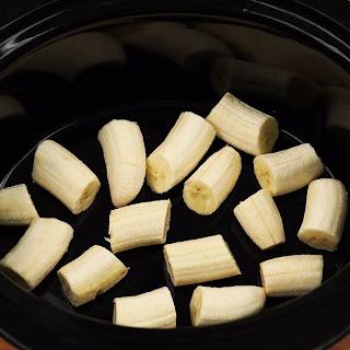 Slow Cooker Bananas Foster Recipe