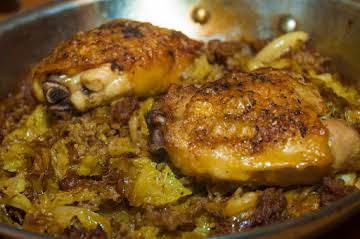 Comfort Essentials: Cabbage, Sausage & Chicken