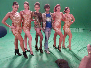 Photo: My sexy Dancers and Super talented and sweetest choreographer Himanshu! Behind the scenes Better Than Your Ex!
