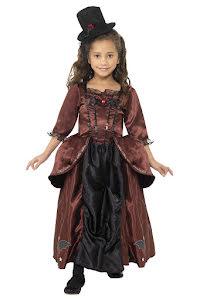 Vampyraklänning med hatt, barn