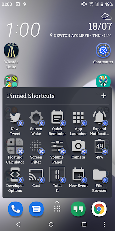 Shortcutter - Quick Settings, Shortcuts & Widgetsのおすすめ画像3