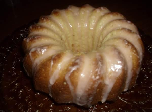 Orange Sherbet Bundt Cake