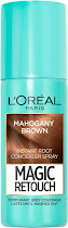 L'Oreal Paris Magic Retouch Instant Root Concealer Spray - Mahogany Brown, 75ml