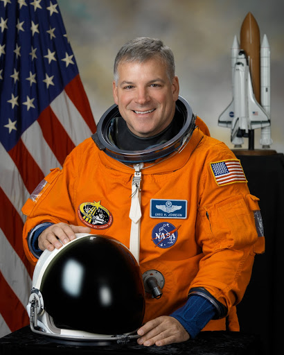 Offficial Portrait of Astronaut Gregory H. (Box) Johnson