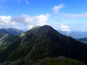 中岳が同じ高さに