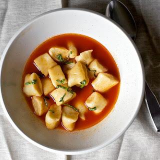 Gnocchi in Tomato Broth Recipe