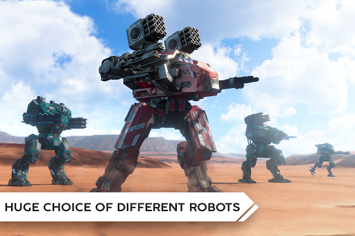 Robot Warfare: Mech battle