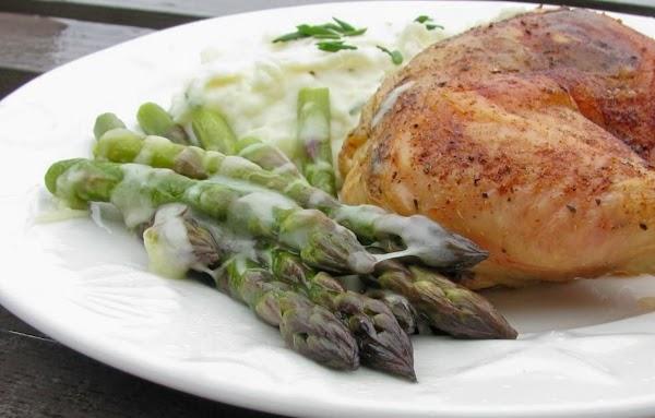 Asparagus With Gruyère Recipe