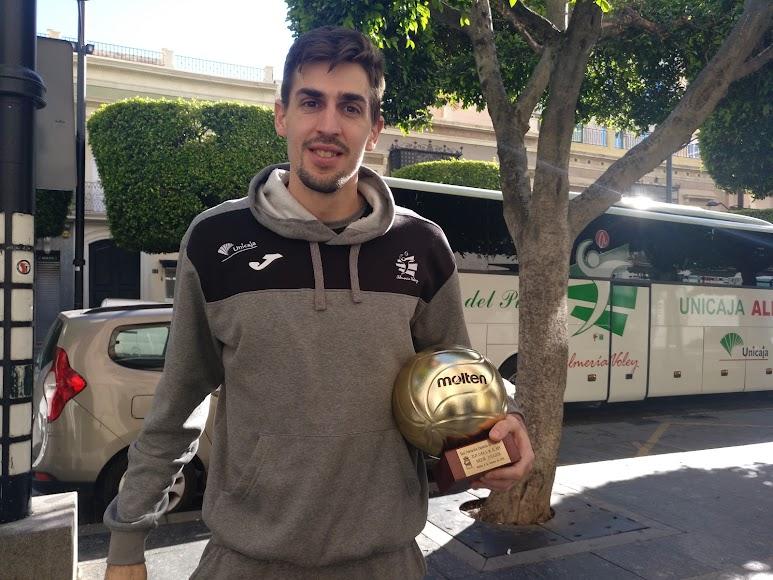 Jorge Almansa, el mejor jugador del torneo.