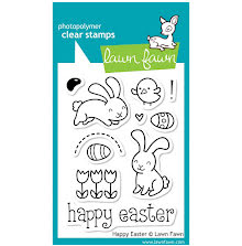 Lawn Fawn Clear Stamps 3X4 - Happy Easter