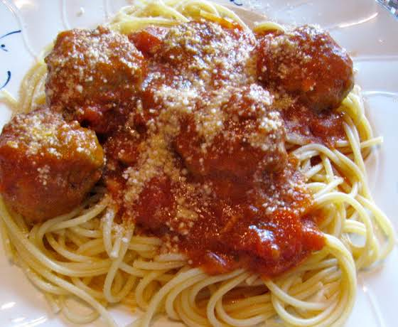 This Is The Finished Product.the Best Meatball Recipe I Have Ever Made. They Are A Little Time Consuming But So Worth The End Result.