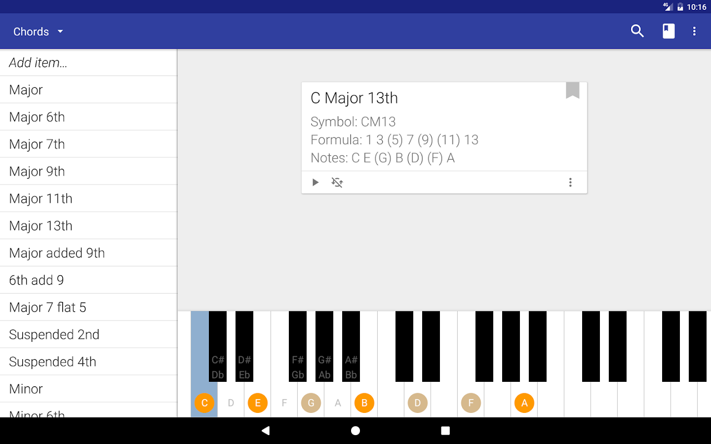My piano assistant android apps on google play my piano assistant screenshot hexwebz Image collections