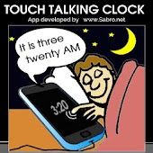 Touch Proximity Talking Clock