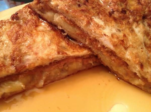 Peanut Butter & Banana French Toast