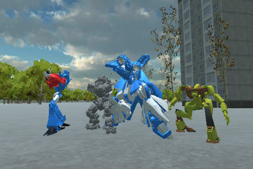 Attack Robot  trampa 3