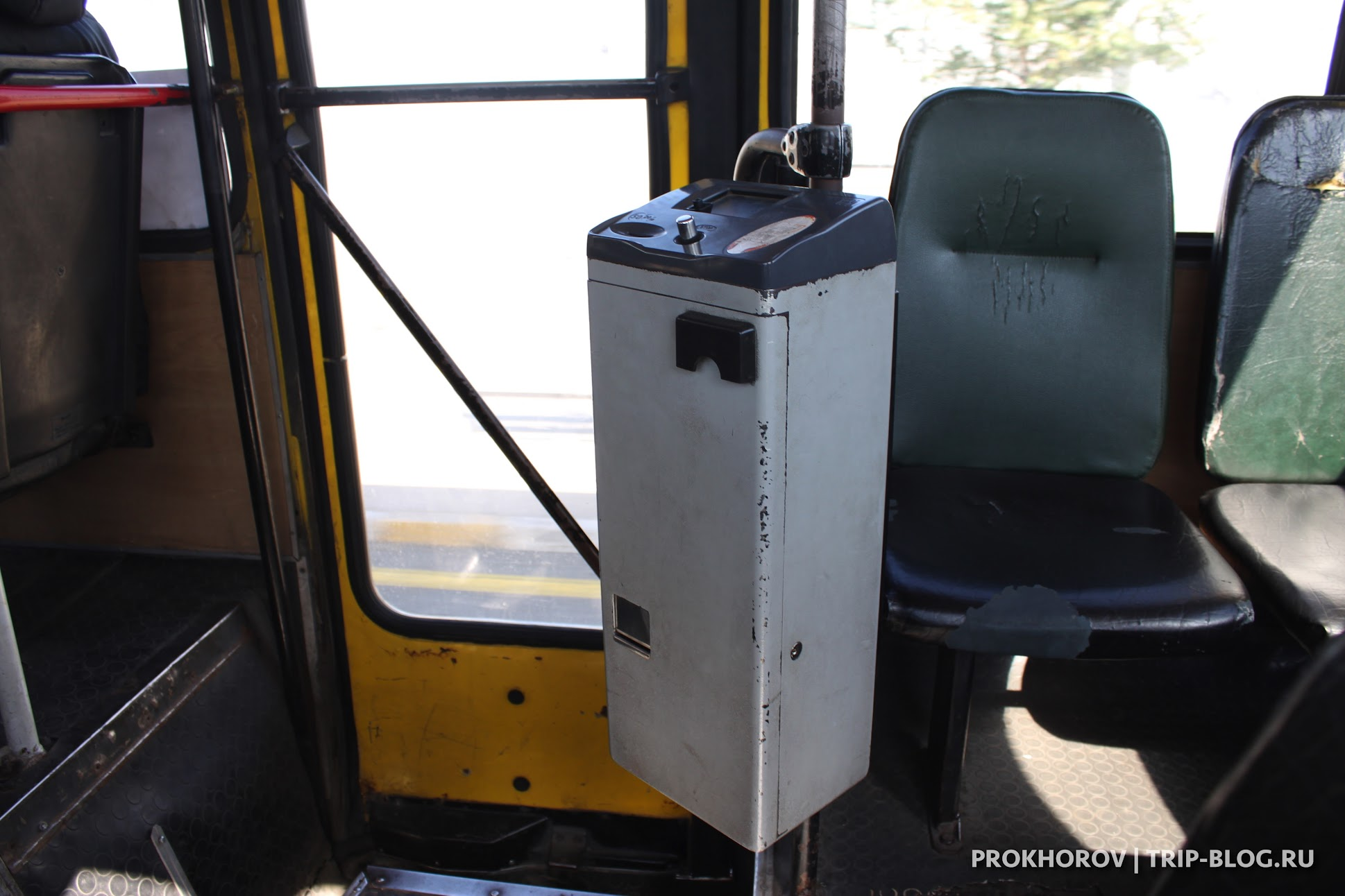 Тбилиси - оплата автобуса 37