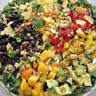 Black Bean and Mango Salad.