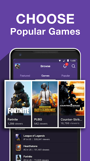 Twitch: Livestream Multiplayer Games & Esports 7.0.1 screenshots 2