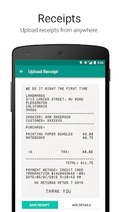 Expense Reporting - Zoho- screenshot thumbnail