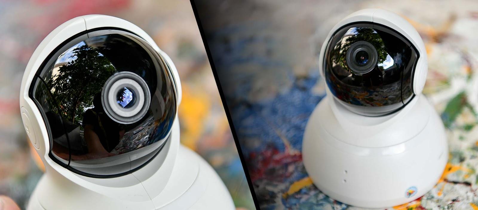 Trên tay và đánh giá nhanh camera quan sát Yi Dome 720 kết nối app Yi Home