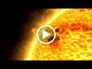 Video: พื้นผิวของดวงอาทิตย์ (0.9 MB)