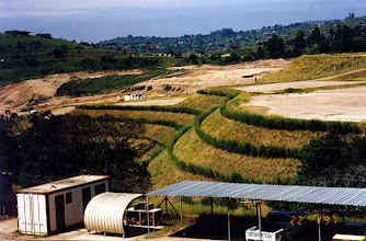 Photo: SUR004 Industrial site stabilized with vetiver
