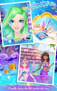 Princess Salon: Mermaid Doris- screenshot thumbnail