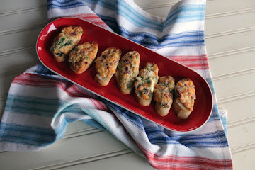 Jalapeno Popper Toasts Recipe
