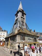 Photo: L'église Sainte-Catherine à Honfleur (2010).