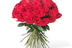 50 Long Stemmed Red Roses