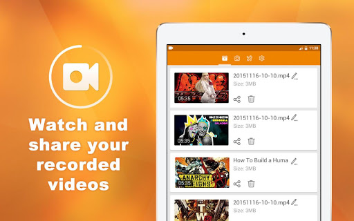 DU Recorder – Screen Recorder, Video Editor, Live game (apk) free download for Android/PC/Windows screenshot