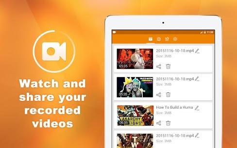 DU Recorder MOD (Ads Free) – Screen Recorder 10