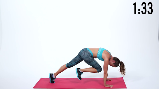ploché břicho ab cvičení - náhled