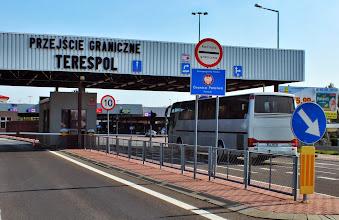 Photo: Drogowe Przejście Graniczne Terespol - Brześć